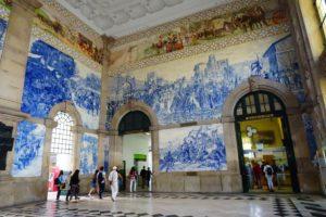Vlakové nádraží São Bento - co dělat v Portu