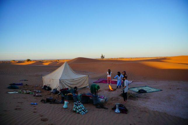 svět je cool - maroko poušť