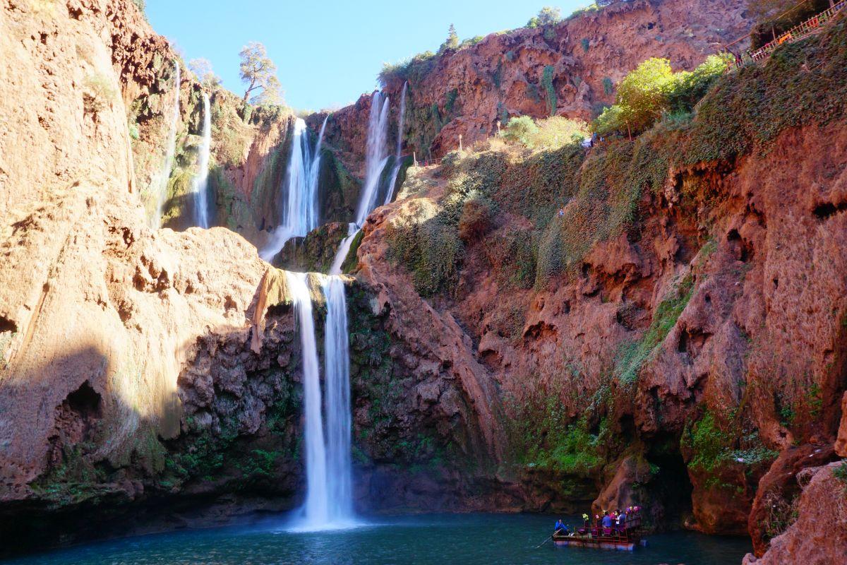 Maroko: Ouzoud Vodopády – únik z ruchu velkoměsta
