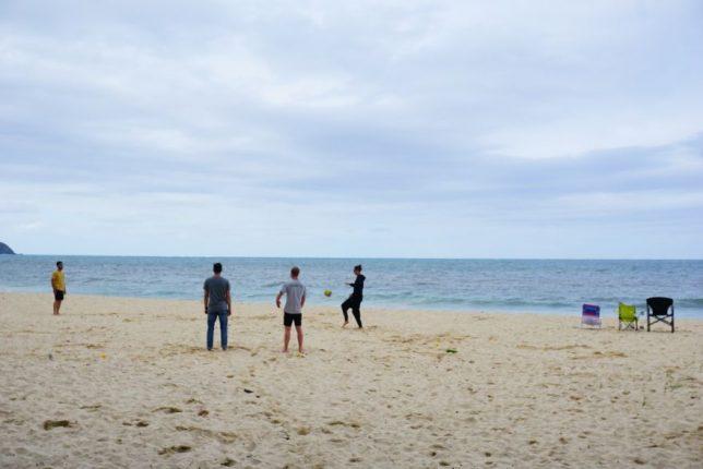 havajské ostovy oahu waimanao beach