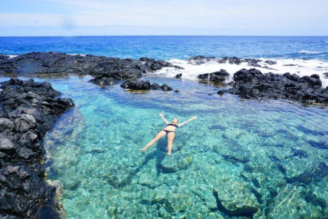 havajské ostovy oahu tide pools