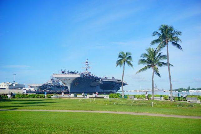 havajské ostovy oahu pearl harbor