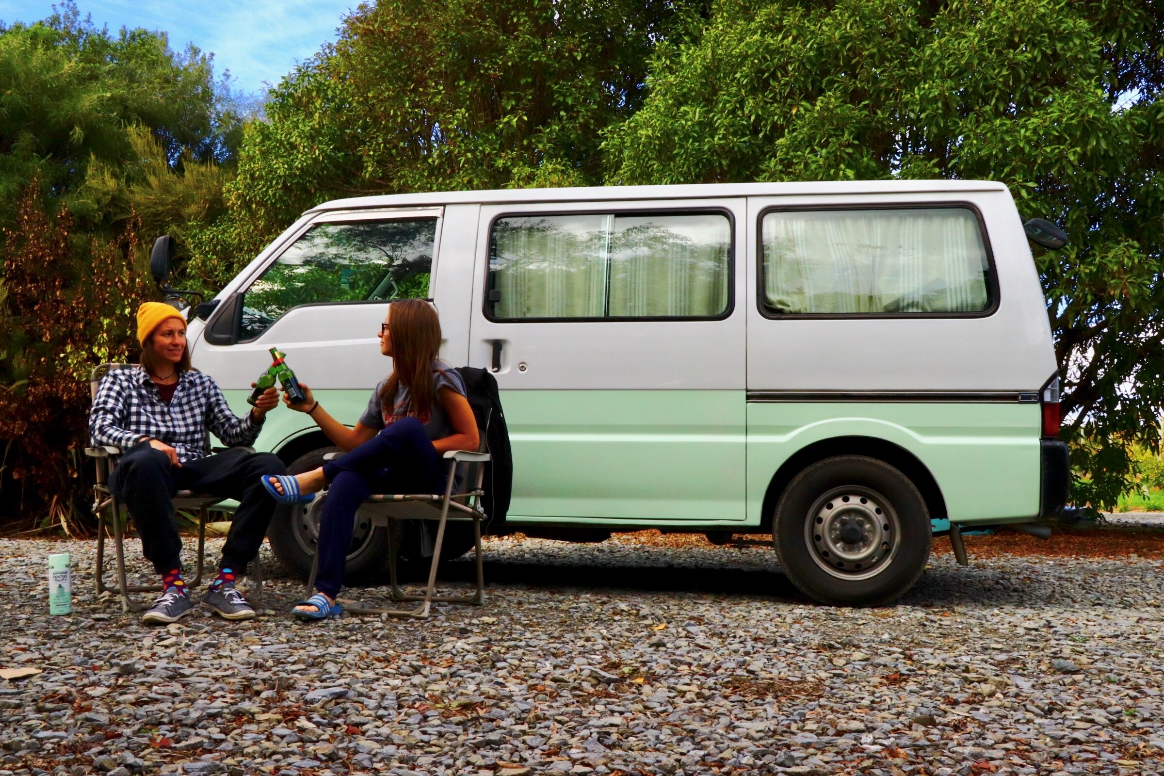 WH Nový Zéland - nákup auta